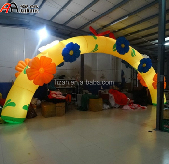 2016 Fashion Inflatable Flowers Arch for Wedding Decoration