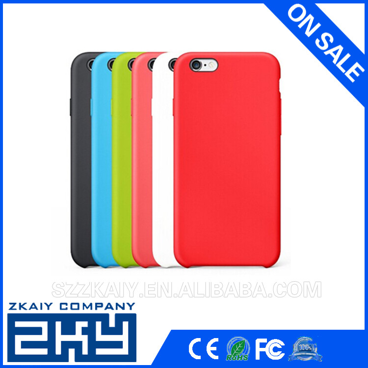 silicone cover for mobile silicone for iPhone 6s case for iphone 6s