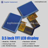 TFT LCD MODULE 3.5inch display with SSD2119 & RTP-TF35014B