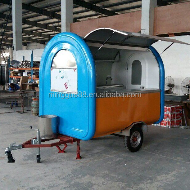 Remorque food carros de comida hot dog cart for sale view - Remorque cuisine mobile ...