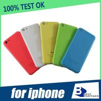 Replacement parts for iphone 5c back cover housing