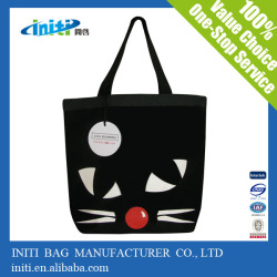 High quality promotional full color printing tote bag