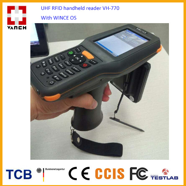 Rugged Industrial Android Mobile Phone Portable Computer PDA with UHF RFID reader