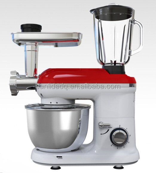 multifunction ROBOT CUISINE, kitchen appliance,stand mixer with blender & meat grinder
