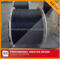 loose tube cable with non-metallic central strength member gyfty fiber optic cable