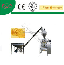 Filling and sealing machine for plantain chips