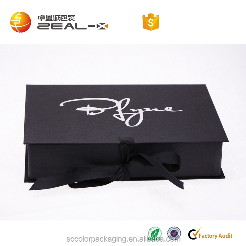 hot sale quality and quantity ensured hot silver matt lamination men business suit box packaging