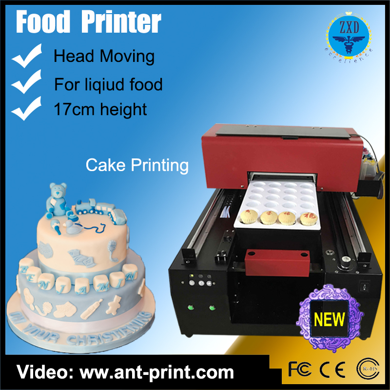 Best Quality Automatical Digital 3d Food Edible Cake Printer With Fast Printing Speed