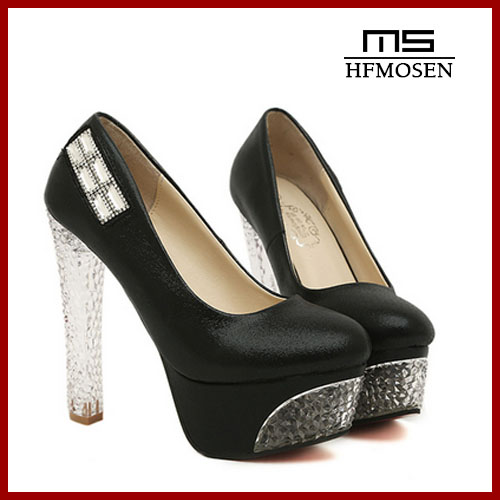 S4132 Women Shoes 2013 princess style crystal heel rhinestone high heels noble dress shoes sexy ladies pumps