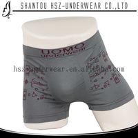 Free Samples polyamide and elastane boxer shorts for men seamless boxer shorts wholesale mens jockey underwear