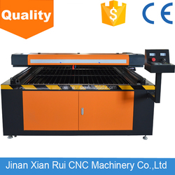 High accuracy XRCL 9013 130W 2mm stainless steel co2 laser cutting machine with rotation RECI laser tube