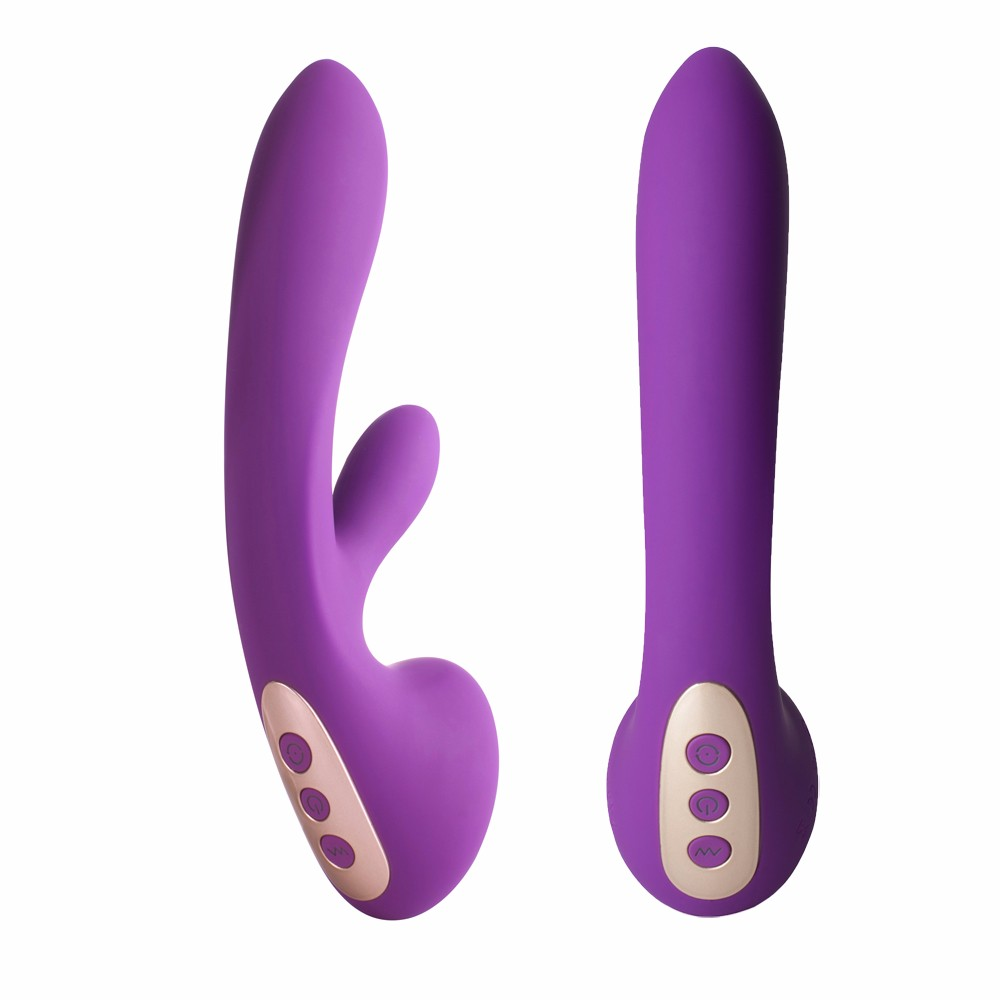 Purple Female Dildo Adult Sex Toy Multispeed G-spot Vibrator USB Massager Waterproof for Women Sex Shop