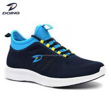 China manufacturer fashionable knit neoprene action sports men running shoes