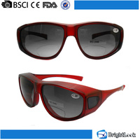 Bicycle/baseball/football novelty revo polarized lenses true color sport bifocal sunglasses custom logo print