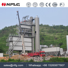 Road construction type asphalt mix plant with high efficiency and low price