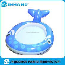hot sale pvc large inflatable whale swimming pool adult/water swimming pool float for family outdoor