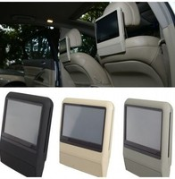 9 inch headrest car dvd player with high definition display