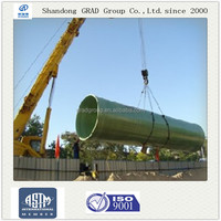 GRAD FRP sand filling pipe for water transportation