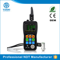 YUSHI Portable Digital Ultrasonic Thickness Gauge For Oil & Gas Pipelines
