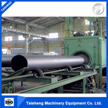 high quality pass-through wire mesh belt shot blasting machine/steel conveyor blast cleaner