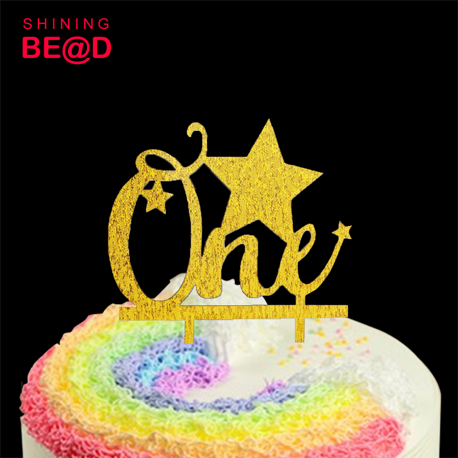 One Cake Topper First Birthday Cake Topper Twinkle Twinkle