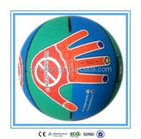 2015 Colorful Design Rubber Basketball For Children