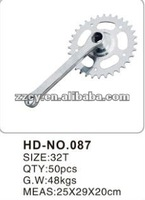 new style and strong steel bicycle chainwheel and crank