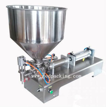 50-500ml Single Head Cream Shampoo Filling Machine