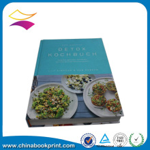 customed factory news hardcover cook book printing services