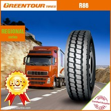 China top grade supplier on and off road truck tire of R86 12.00r24