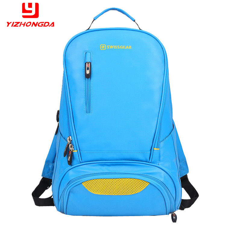 Fashion Swissgear Anti-tear Anti-Water School Bag Blue Laptop Backpack For Teen