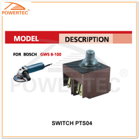 POWERTEC angle grinder switch,power tools spare parts,electric power tool switches