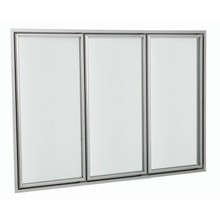 heating glass door used for supermarket refrigeration equipment