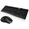 Full size 104 keys arabic USB interface laptop keyboard mouse combos