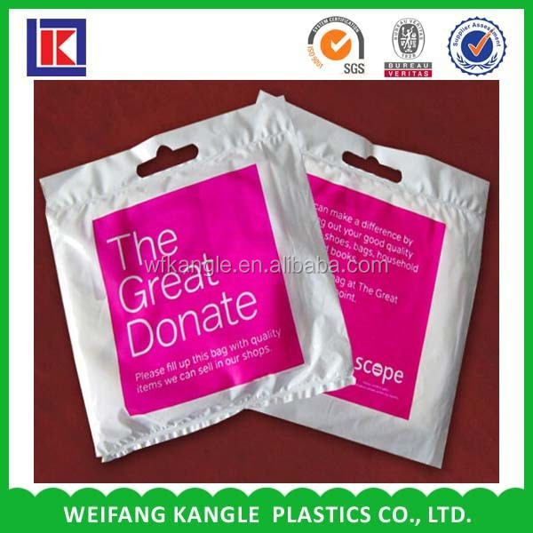biodegradable packing charity bag for sale