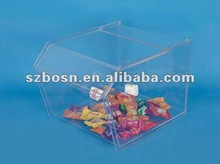 Acrylic Candy Dispenser Box/ Acrylic Candy Cabinet/ Acrylic Sweet Container