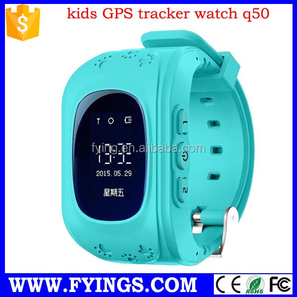 <strong>Hotting</strong> sale Q50 child gps watch with SIM card smart watch phone