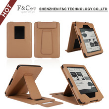 For Amazon kindle touch 2014 e-book leather case with stand function