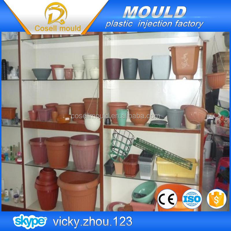 plastic garden pot moulds/injection factory/injection mould factory