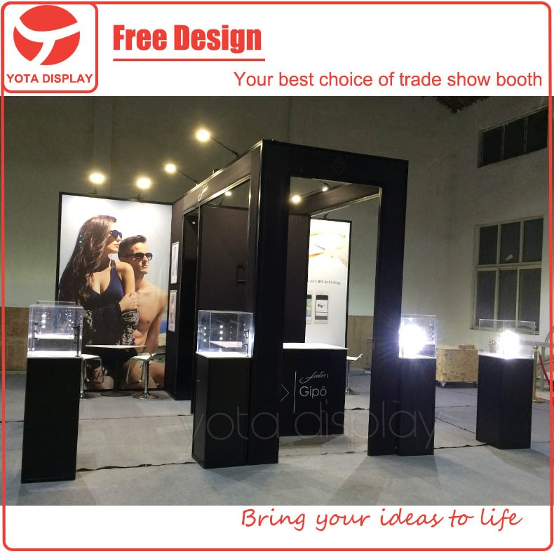 Exhibition Booth Fabrication : Yota offer fuster booth exhibition fabrication