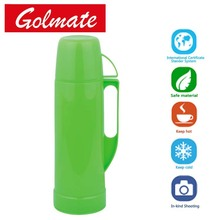 Children use Plastic Glass liner isolation insulated thermos Vacuum flask, coffee pot, teapot, water jug 0.35L, 0.5L, 0.75L,1.0L