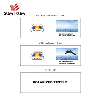 Stealth Effect Small Polarized Test Card With Paper Card For Packing