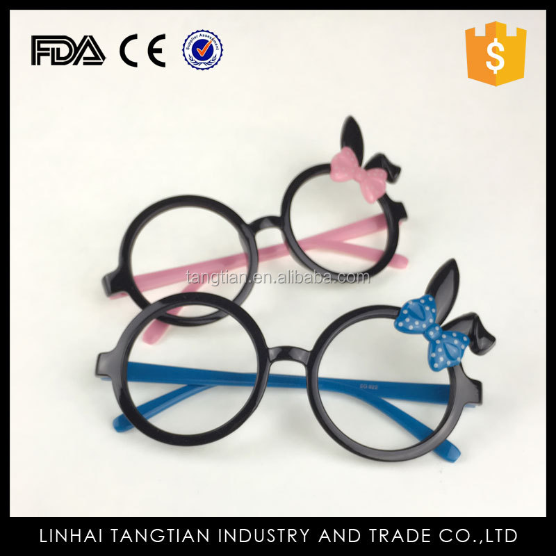 TTY-0152 Promotional popular new 2016 lovely bunny ears fancy children toy eye wear children spectacle frame