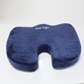 Spine support washable velour cover Memory foam Swivel Car Seat Cushion