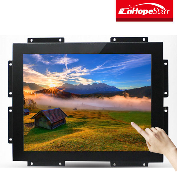 Resistance touch screen 15 inch open frame lcd monitor
