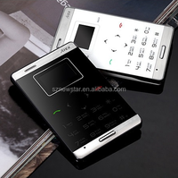 Touch Keyboard Mini Mobile Phone card size mobile phone for kids elders