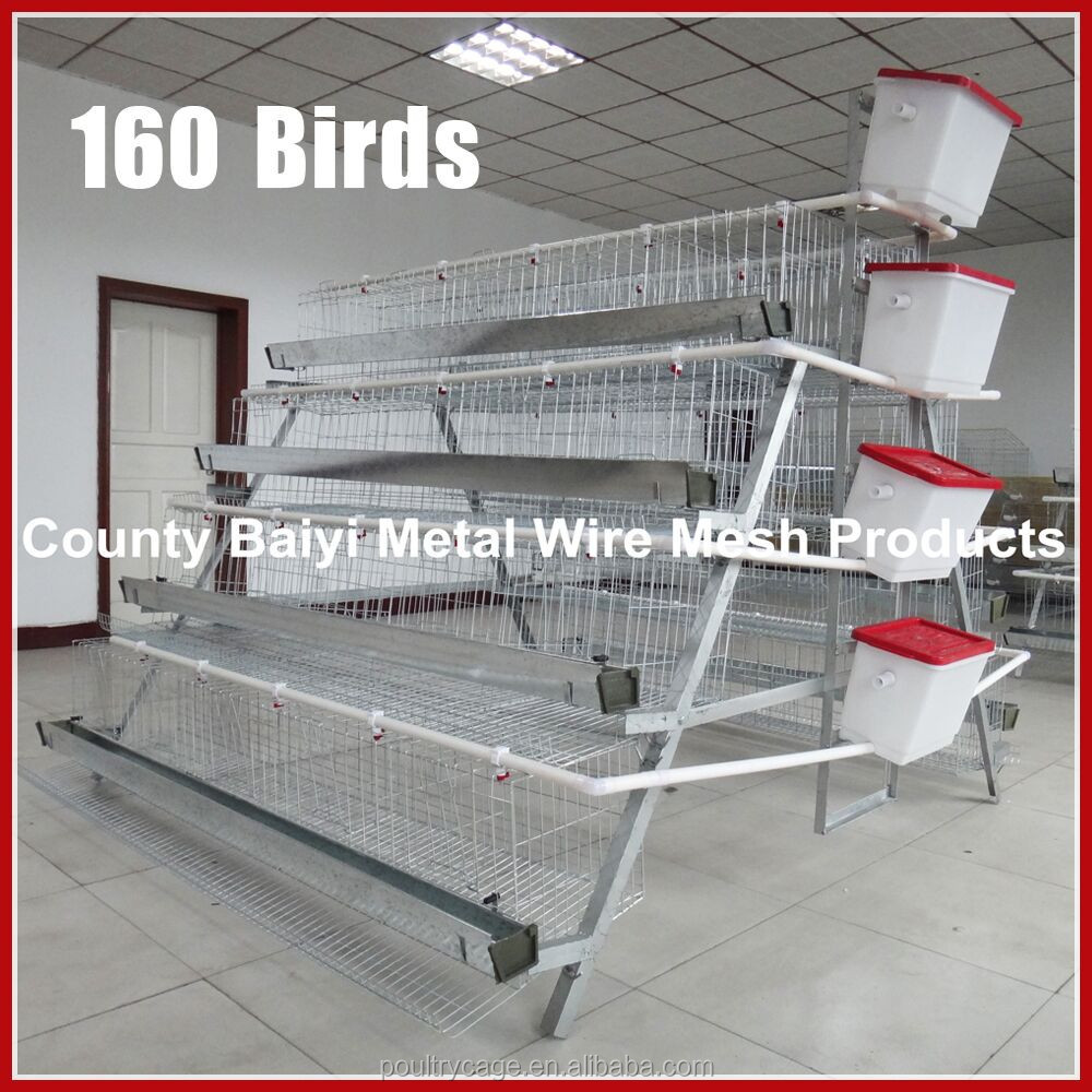Used Metal Galvanized Breeding Chicken Cages/Houses For Farming Equipment Hot Sale Online