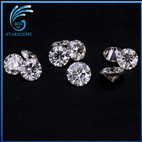 Wholesale 1 carat certified moissanite diamond gemstone