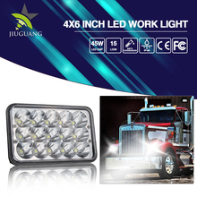 Rectangle CE ROHS DOT IP68 45w 7 inch 4x6 led headlight h4