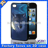 for iphone 4/4S 3D sublimation phone case